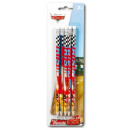 HB Graphite Pencil 5 Disney Cars , Verdas