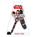 Digital Watch + LED Flashlight Star Wars