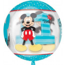 DisneyMickey First Birthday Sphere Foil Balloons