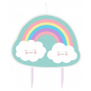 wholesale Candles & Candleholder: Rainbow and Cloud Cake Candle