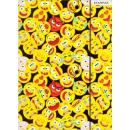 nagyker Mappák és iratrendezők:Emoji A/4 gumis mappa