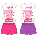 wholesale Sleepwear: Peppa pig kid with short sleeves pyjamas 92-122 cm