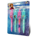Pen Set 4 pcs Disney frozen , Ice Magic