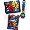 Digital watch + wallet Spiderman , Spiderman