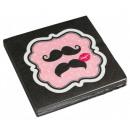 Mustache, Bajusz napkin 20 pieces 32,7 * 32,7 cm