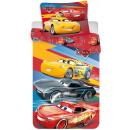Pościel Disney Cars , Verde 140 × 200cm, 70 × 90