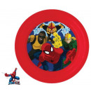 Spiderman, Spiderman flat plate, plastic 3D
