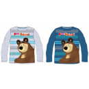 Masha and the bear kid long-sleeved t-shirt 98-128