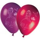 Disney Sofia , globos, globos Sofía 8 piezas