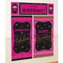 Happy Birthday Wall Decor 5 Pieces