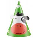 Farm Party hat, 8 pieces