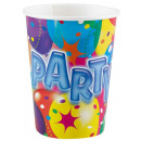 Party paper cup 8 pcs 266 ml