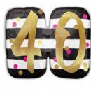Happy Birthday 40 Foil balloons 63 cm