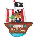 Großhandel Geschenkartikel & Papeterie: Happy Birthday Folienballons 86 cm