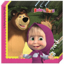 Masha and the Bear napkin 20 pieces