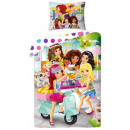 LEGO Friends linen cover 140 × 200cm, 70 × 90 cm