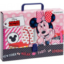 DisneyMinnie A / 4 File bag with handle