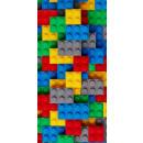 Ziegel, LEGO Muster Strandtuch 70 * 140cm