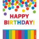 Happy Birthday Geschenktüte mit 8 Stück