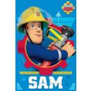 Großhandel Lizenzartikel: Polar Bettdecke  Fireman Sam , Sam das Feuer 100 x