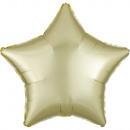 Satin, satin Pastel Yellow Foil Balloons 43 cm