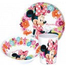 Arts de la table, la mélamine fixe Disney Minnie