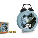Alarma de reloj  gigante Star Wars 23 cm