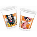 DisneyMickey Halloween Plastic Cup 8 pcs