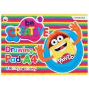 Szkicownik Play-Doh A/4, zeszyt do rysowania 20 ar