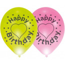 Happy Birthday illuminated LED balloon, balloons 4