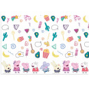 Peppa Pig , Peppa pig Tablecloth 120 * 180 cm
