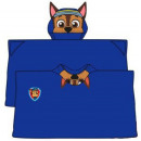 Plush Hooded Duvert Poncho Paw Patrol