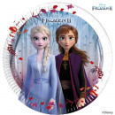 wholesale Licensed Products: Disneyfrozen II, Ice Magic Paper Plate 8 pcs