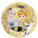 wholesale Party Items: Disneyfrozen Fever, Ice Magic Paper Plate 8 pcs