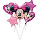 wholesale Party Items: Disney Minnie Foil Balloons Set 5 Pieces