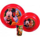 Vaisselle, plastique Set Disney Mickey