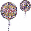 Frohes neues Jahr Ball Ballon Ball