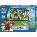 Paw Patrol Doppelseitiges Puzzle 99 Teile