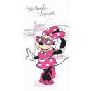 Serviette de bain Disney Minnie , serviette de pla