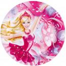 Barbie paper plates 23cm 8 pcs