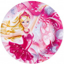 Barbie Plato de papel 8 pieza 23 cm