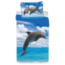 Dolphin bedding cover 140 × 200cm, 70 × 90 cm