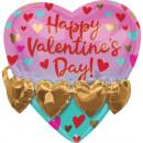 groothandel Stationery & Gifts: Happy Valentine's Day Folieballon 3D ...