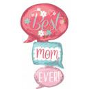 Best Mom Ever, Best Mother Foil Balloons 134 cm