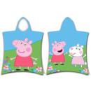Peppa pig towel poncho 50 * 115cm