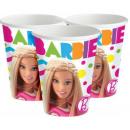 Barbie paper cup 8 pcs 226 ml