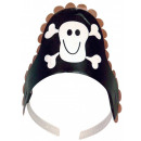 Pirate, Pirate Party Hat with 4 pieces