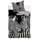 wholesale Home & Living: Zebra bedding cover 140 × 200cm, 70 × 90 cm