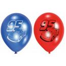 DisneyCars , Verdák balloon, balloons 6 pcs