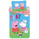 wholesale Bed sheets and blankets: Peppa Pig bedding 140 × 200cm, 70 × 90 cm